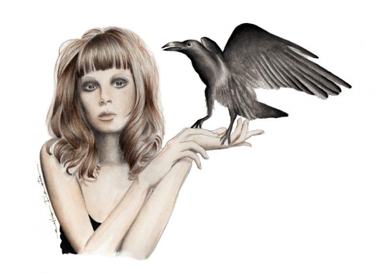 La Mujer y el Cuervo