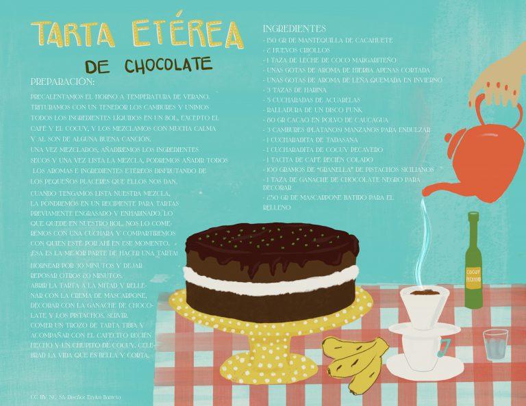 Tarta Etérea de Chocolate
